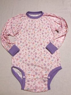 Photo2: Adult Baby  Onesie  lovely bear pattern long sleeve