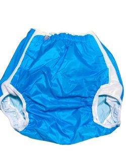 Photo1: Adult baby diaper cover velcro type (waist 23.5-36.5)