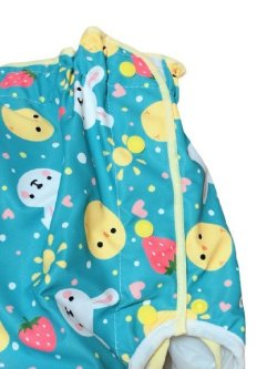 Photo2: Adult baby diaper cover with animals prints